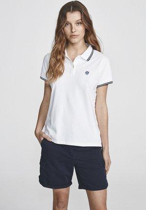STRETCH - Polo shirt - white