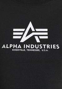 Alpha Industries - BASIC CROPPED  - Long sleeved top - black - 6