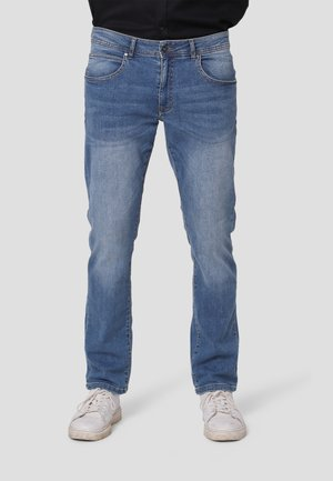 Straight leg jeans - soft blue wash