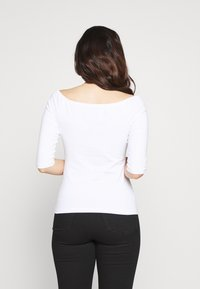 Even&Odd Petite - 2ER PACK  - Long sleeved top - white/black - 3