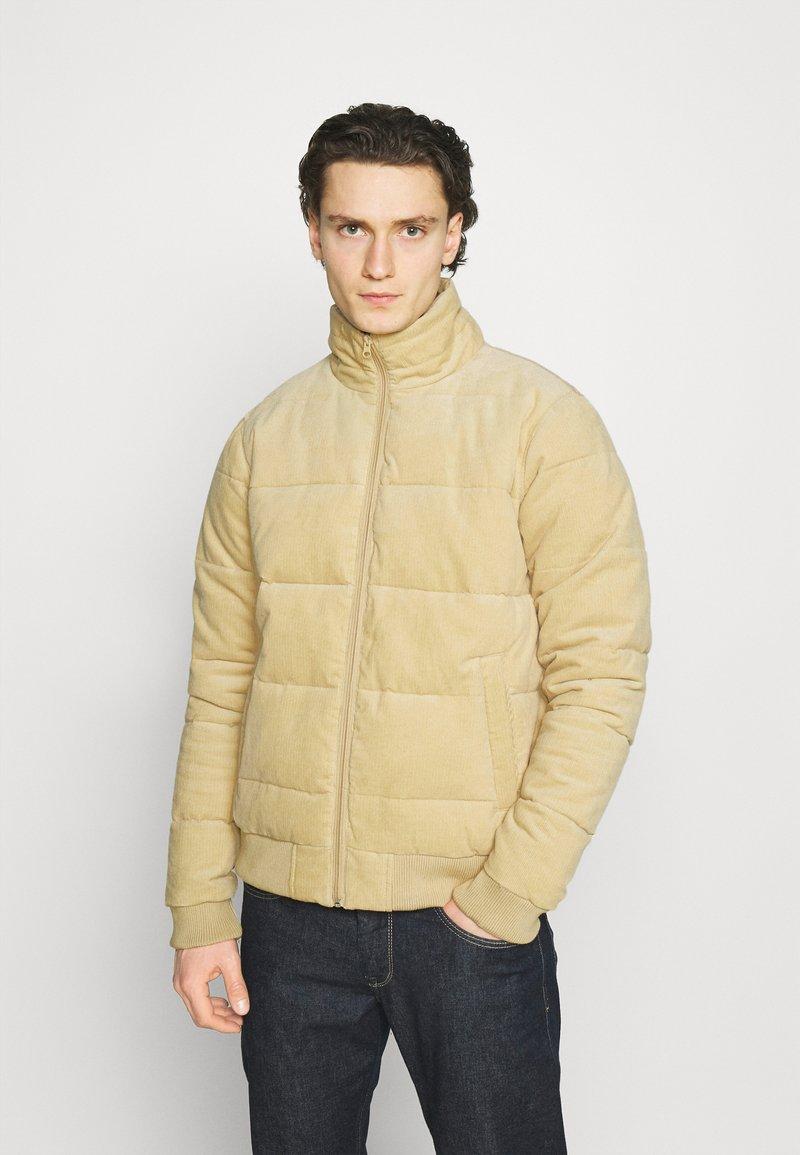 Cotton On - PUFFER JACKET - Light jacket - sand