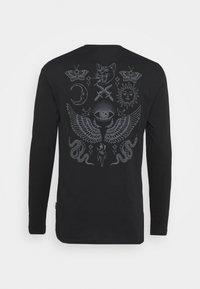 YOURTURN - UNISEX - Long sleeved top - black - 8