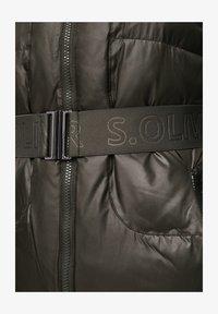 s.Oliver - MIT LOGO-GÜRTEL - Winter coat - khaki - 5