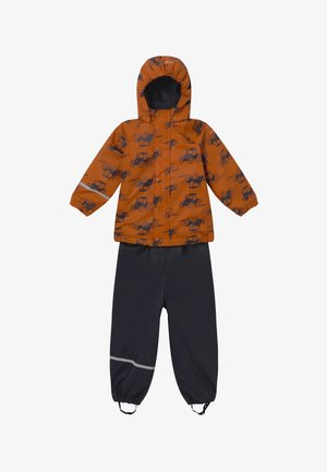 RAINWEAR SET - Rain trousers - pumpkin spice