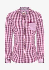 Spieth & Wensky - MALLORCA - Button-down blouse - berry - 4