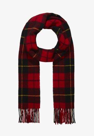 Bufanda - red/black tartan