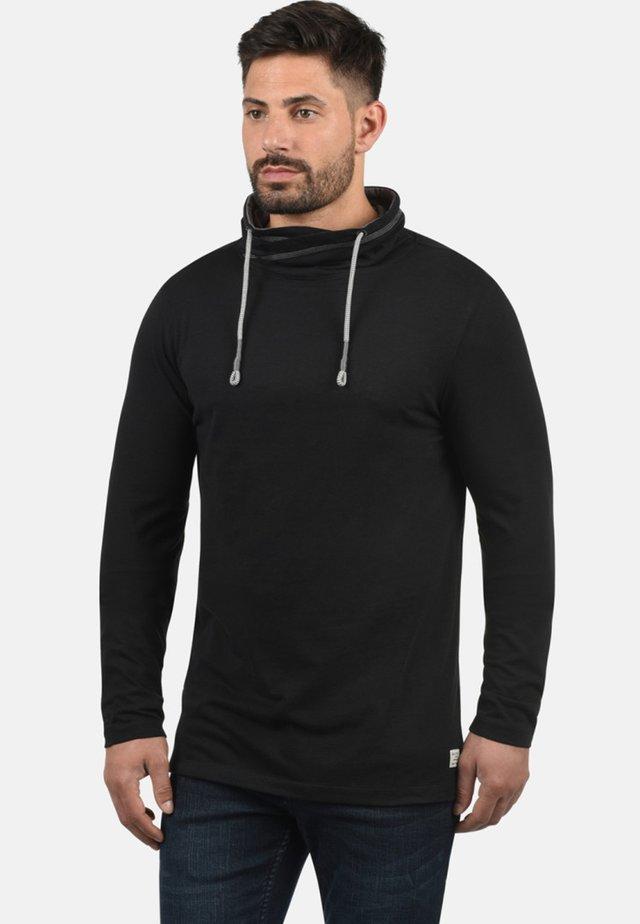 PALLO - Long sleeved top - black