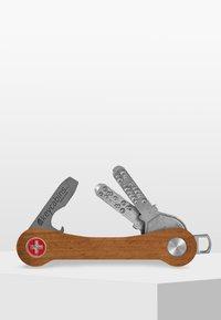 keycabins - KEYCABINS KEYHOLDER WOOD - Sleutelhanger - mottled light brown - 0