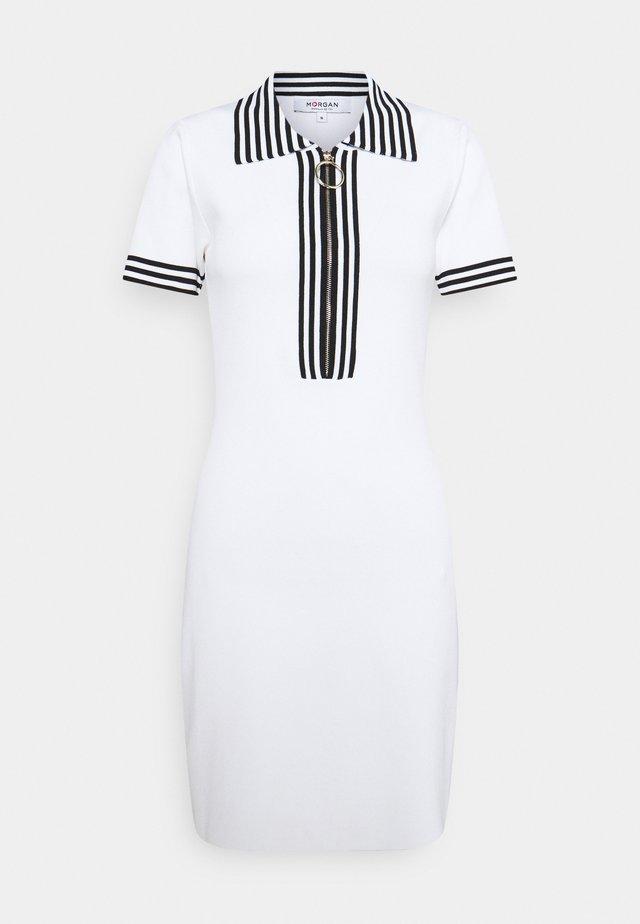 Gebreide jurk - off white