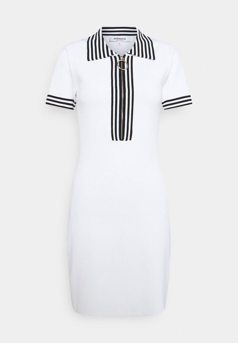 Morgan - Jumper dress - off white