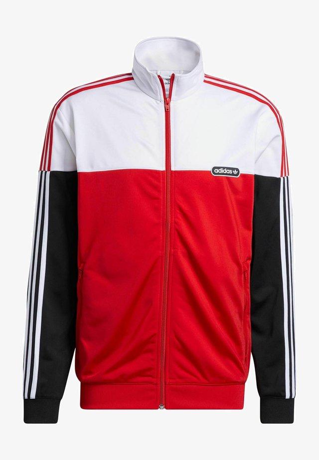 SPLIT FIREBIRD - Training jacket - scarlet