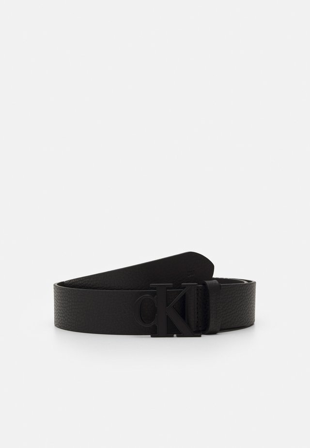 LOGO TEXT  - Belt - black