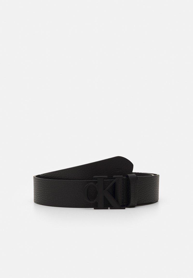 Calvin Klein Jeans - LOGO TEXT  - Belt - black