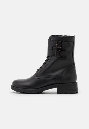 LACIS - Lace-up ankle boots - noir