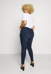 JUNAROSE - by VERO MODA - JRFOUR JAIME  - Jeans Skinny Fit - dark blue denim - 2