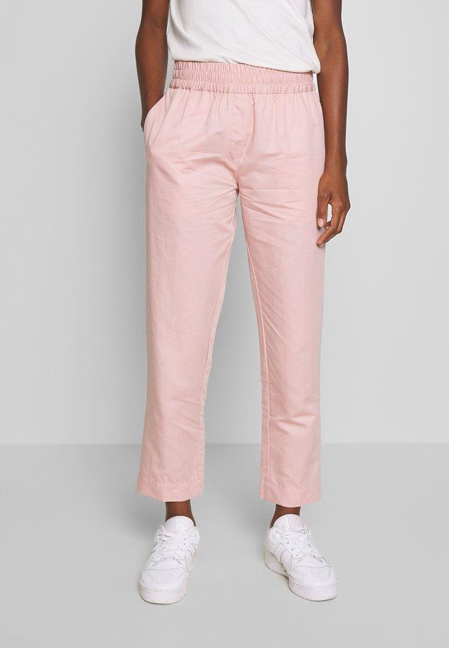 SMILLA TROUSERS - Spodnie materiałowe - misty rose