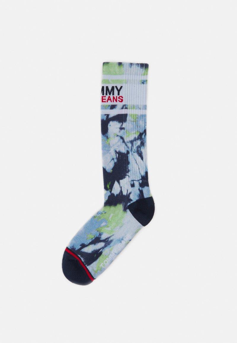 Tommy Jeans - TIE DYE SOCK UNISEX - Ponožky - lime