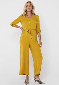 ONLY - 3/4-ÄRMEL - Jumpsuit - chai tea - 0