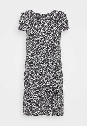 ONLBERA BACK DRESS - Jerseyjurk - black/white