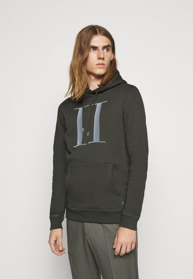 ENCORE HOODIE - Sweat à capuche - deep forrest/sleet grey