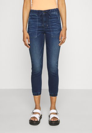 JEGGING JOGGER - Slim fit jeans - deep waters