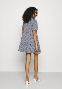 Abercrombie & Fitch - SHIRTDRESS - Sukienka koszulowa - blue - 2