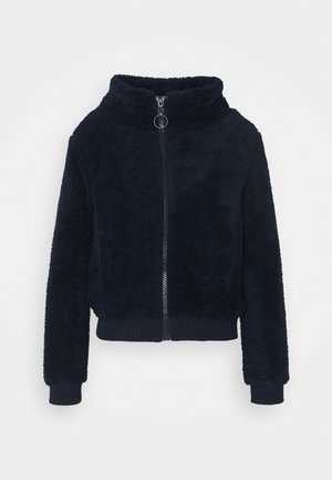 Fleece jacket - indigo