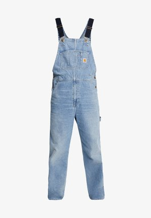 SIMPLE PANT NORCO - Jeans straight leg - blue worn bleached