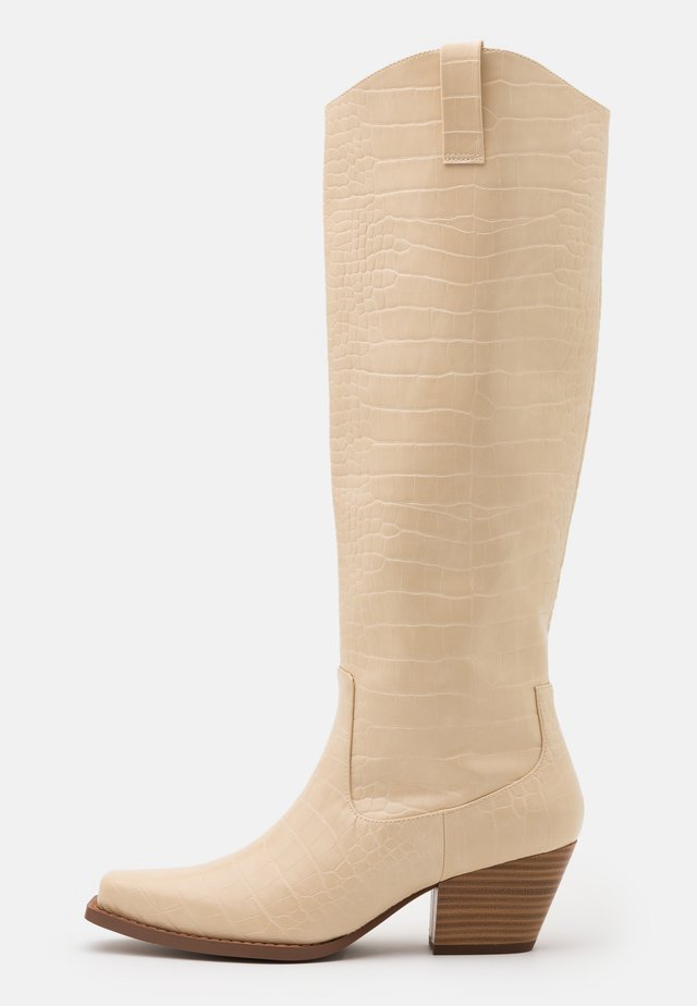 VEGAN ROXY BOOT - Cowboystøvler - beige dusty light