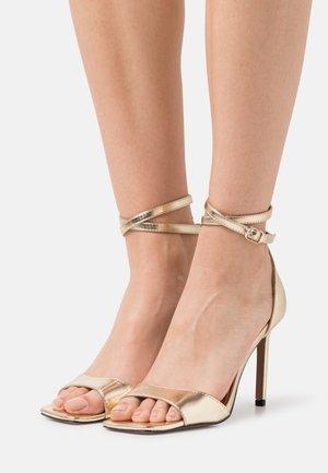 ONLALYX - High heeled sandals - gold