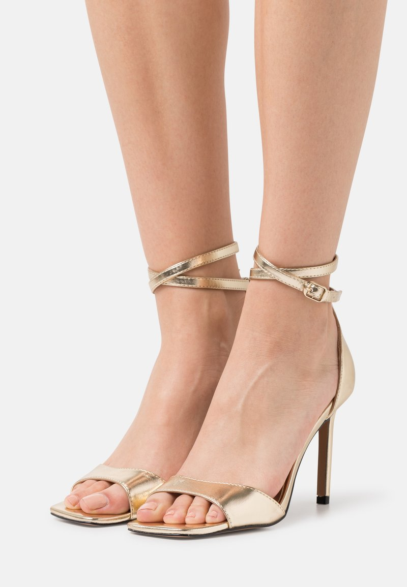 ONLY SHOES - ONLALYX - High heeled sandals - gold