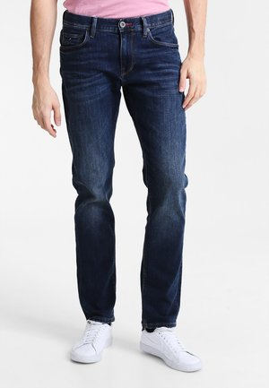 DENTON - Jeans straight leg - new dark stone