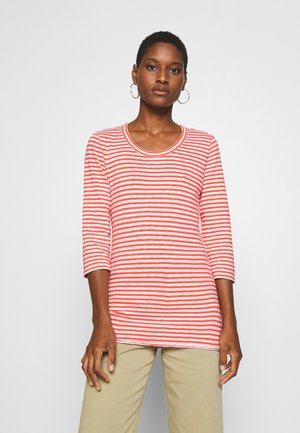 T-SHIRT, 3 4 SLEEVE, Y D STRIPE - Top s dlouhým rukávem - multi/soft coral