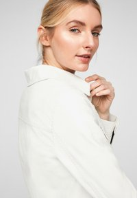 QS by s.Oliver - Faux leather jacket - cream - 6