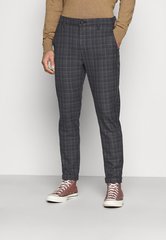 ROME PORTO CHECK - Broek - brown check