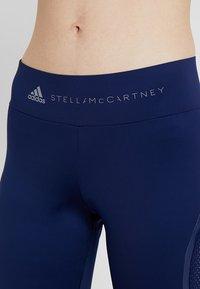 adidas by Stella McCartney - ESSENTIALS SPORT CLIMALITE 3/4 LEGGINGS - 3/4 sports trousers - dark blue - 6