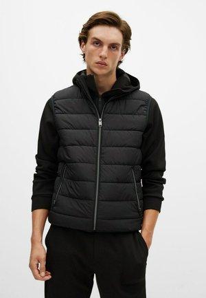 GORRYST - Waistcoat - schwarz