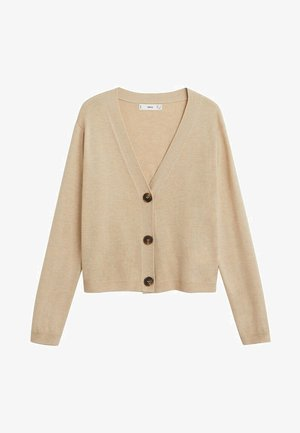 NANTY - Cardigan - light/pastel grey