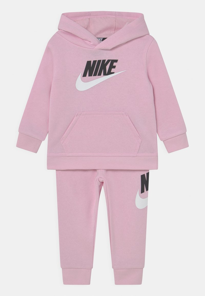 Nike Sportswear - HODIE SET UNISEX  - Verryttelypuku - pink foam