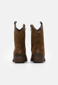 Coolway - JULES - Cowboy/biker ankle boot - brown - 3