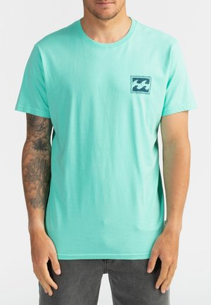 WARCHILD  - Print T-shirt - light aqua