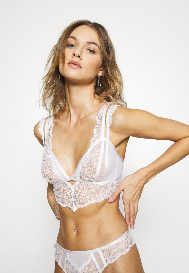 THE ADMIRER BRALETTE  - Bustier - white
