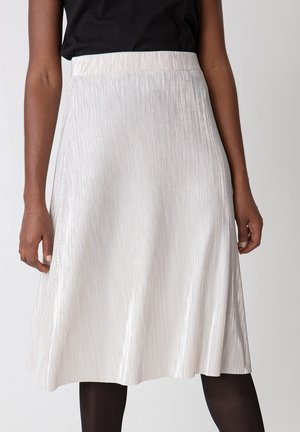 FAYA - Áčková sukně - silver