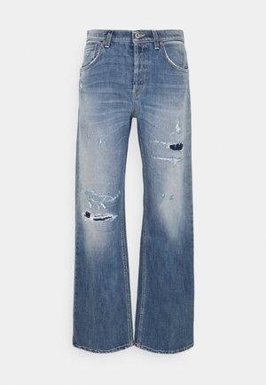 JACKLIN - Flared Jeans - blue denim