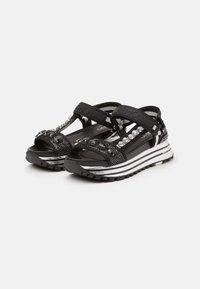Liu Jo Jeans - MAXI - Platform sandals - black - 2
