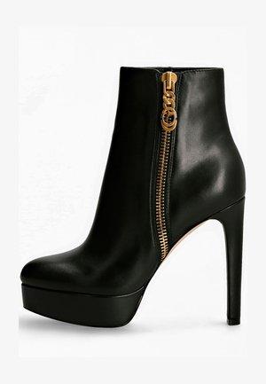 DELON - Platform ankle boots - schwarz