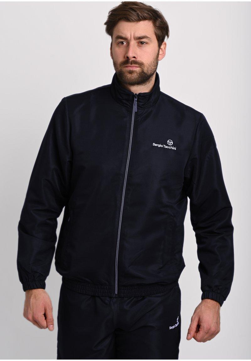 Sergio Tacchini - CARSON TRACKTOP - Training jacket - blue depths / blanc de blanc