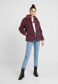 Topshop - READING - Winter jacket - burgundy - 1