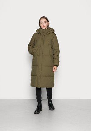 VMMARGARET LONG - Winter coat - dark olive