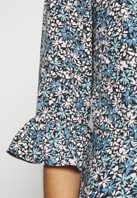 Dorothy Perkins - DITSY MIDI FRILL DRESS - Denní šaty - blue - 5